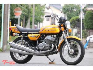 カワサキ/750SS H2 初期型 1972年 8000番 フルノーマル車 エンジンOH済