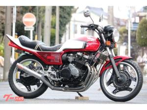 ホンダ/CBX400F CBX400F2 FF フル2型赤白 モリワキマフラー BEET