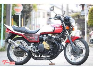 ホンダ/CBX400F  国内物 昭和59年9月登録 赤白2型仕様 ガニマタブレット