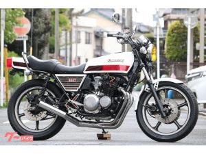 カワサキ/Z400FX 国内物 昭和56年4月登録 類別区分番号枠内 腰上OH レストア済