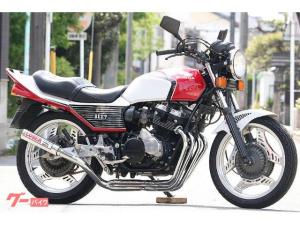 ホンダ/CBX400F 赤白フルBEET 新品ルーザー管 エンジンフルOH済 各所OH済
