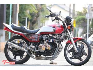 ホンダ/CBX400F フルメッキ 赤白2型仕様 オイルクーラーサイド廻し フルBEET カスタムペイント レストア済み カスタム多数