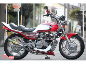ホンダ/CBX400F フルレストア フレームフルメッキ エンジンフルOH済 ニューペイント フル国内物 赤白2型仕様 RPM BEET