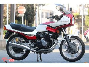 ホンダCBX400Fインテグラ フルノーマル車両 オリジナルペイント フルコーション 赤白 1型  純正 当時物  純正マフラー 整備済の画像(愛知県)