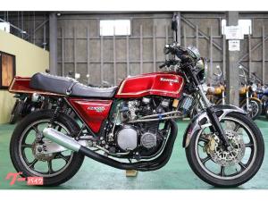 カワサキ/Z1000MKII フルカスタム ワインレッド ブレンボ モナカマフラー 1979年3月 コーションラベル付 FCR33π 正規車両