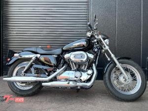 HARLEY-DAVIDSON/XL1200C カスタム ビビッドブラック メッキエンジン