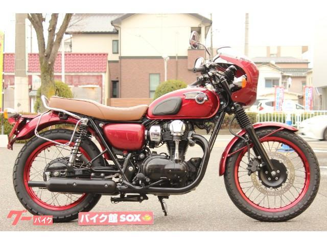 カワサキ W800 SE 2012年モデル サイドバックサポート装備の画像(愛知県