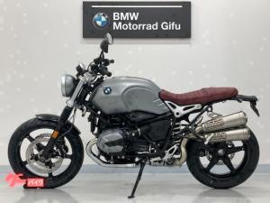 BMW/RnineT スクランブラー 新型 ETC2.0 グリップヒーター クルコン モード切替 LEDヘッドライト 2本出しマフラー
