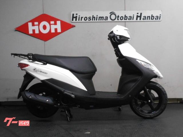 スズキ アドレス125 フラットシート仕様 M0モデルの画像(広島県