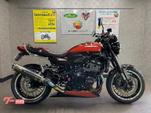 カワサキ/Z900RS OVERフルエキマフラー カスタム