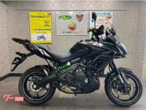 カワサキ/Versys650 ABS アクラマフラー バンパー キャリア