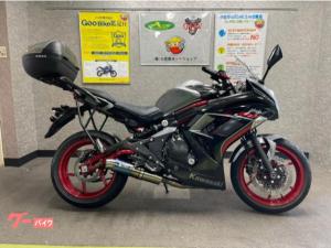 カワサキ/Ninja 400 リミテッド WR'sマフラー リアBOX