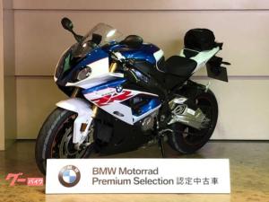 BMW/S1000RR 2018年モデル 純正OPアクラポサイレンサー&エンジンスライダー カーボンフレームカバー HPレバー 認定中古車