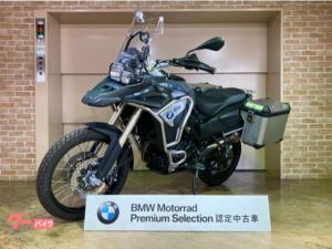 BMW/F800GSアドベンチャー 2017年モデル アルミパニア ETC タンクガード グリップヒーター BMW認定中古車