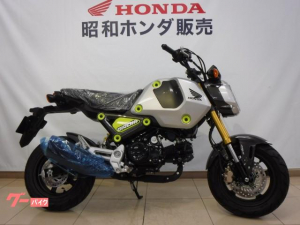 ホンダ/グロム 2021年新モデル 5速ミッション ABS