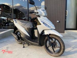 スズキ/アドレス110 2021年モデル コンバインドブレーキ搭載