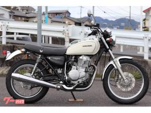 ホンダ/CB400SS ホワイト 社外ミラー