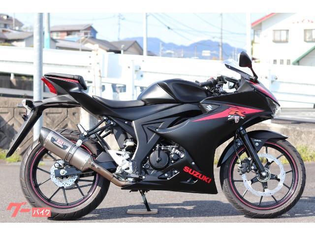 スズキ GSX-R125 ABS YOSHIMURA ソリッドブラックの画像(岡山県