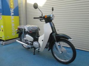 ホンダ/スーパーカブ110 最新モデル ヘルメット付