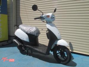スズキ/レッツ  最新2020年モデル ヘルメット付