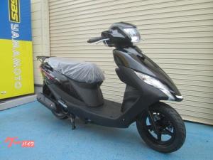スズキ/アドレス125 最新2020年モデル ヘルメット付