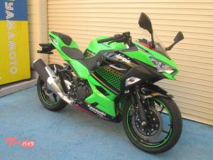 カワサキ/Ninja 400 KRT2020年1オーナー車ETC本体付