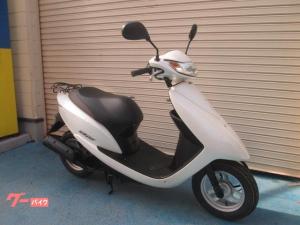 ホンダ/Dio 前後タイヤ・左右グリップ新品付 ヘルメット付