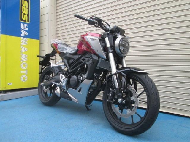 ホンダ CB125R 最新モデル ヘルメット付の画像(山口県