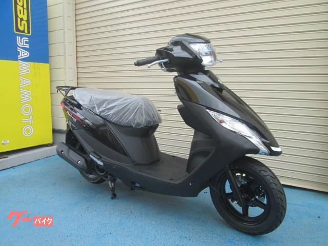 スズキ アドレス125 最新モデル ヘルメット付の画像(山口県