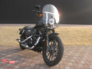 HARLEY-DAVIDSON/XL883N アイアン 2014年モデル ETC マスタッシュガード ハイウェイペグ スクリーン サドルバッグ スペアキー