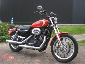 HARLEY-DAVIDSON/XL1200R 2009年ラストイヤーモデル ETC カスタムグリップ フロントダブルディスク