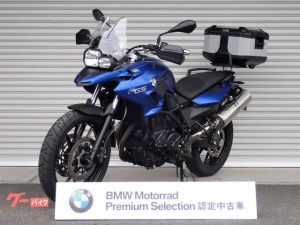 BMW/F700GS BMW認定中古車 800GSスクリーン トップケース付き
