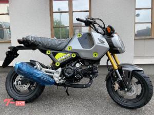 ホンダ/グロム 国内仕様 5速ミッション ABS搭載 多機能メーター フォースシルバーメタリック