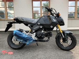 ホンダ/グロム 国内仕様 5速ミッション ABS装備 マットガンパウダーブラックメタリック