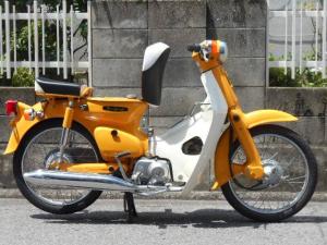 ホンダ/スーパーカブ50 C50ST 黄カブ