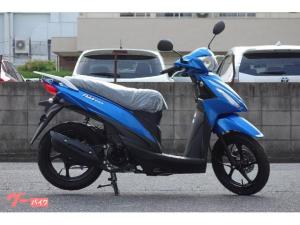 スズキ/アドレス110 新車  SEPエンジン搭載