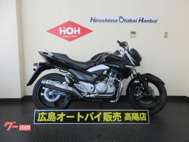 スズキ GSR250 グリップヒーター装備の画像(広島県
