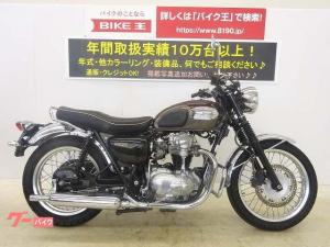 カワサキ/W650 エンジンガード バッグサポート
