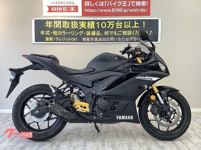 ヤマハ YZF-R25 ABS 2019年モデル 倒立フォークモデル バックステップ カスタムアルミレバーの画像(岡山県