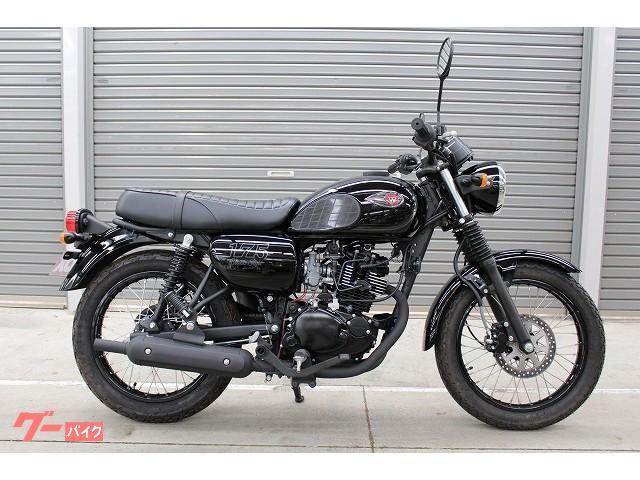 カワサキ W175 ブラックスタイル 2020年 国内未発売モデルの画像(香川県