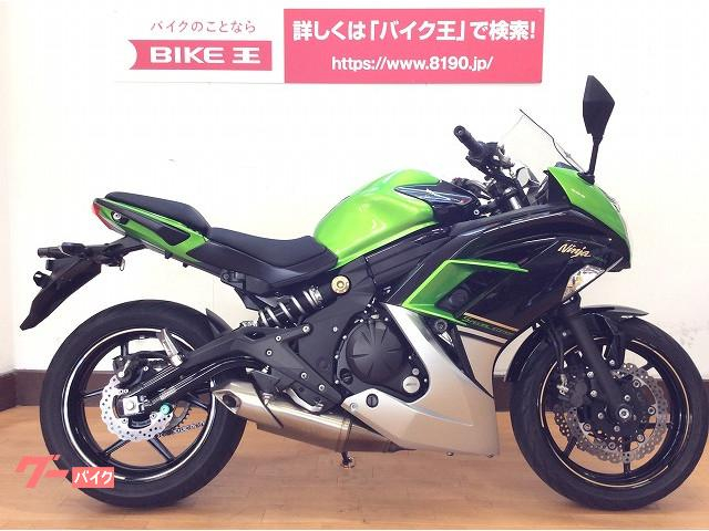 カワサキ Ninja 400 フルノーマル・エンジンスライダー・マルチバー装備の画像(愛媛県