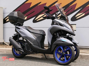 ヤマハ/トリシティ155 2020年モデル LMWテクノロジー ETC トップケース ハンドガード スペアキーあり