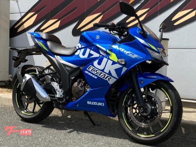 スズキ GIXXER SF 250 2020年モデル ABS フルカウルスポーツ 油冷エンジンの画像(山口県