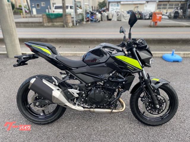カワサキ Z250 2022モデルの画像(栃木県