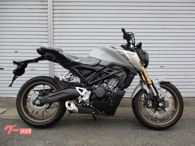 ホンダ CB125R 2021モデル パールスモーキーグレー 新車の画像(群馬県