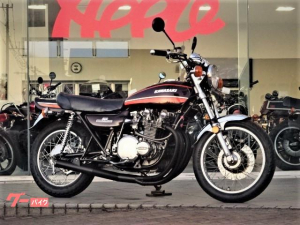 カワサキ/Z-I 74年モデル ショート管 オイルクーラー