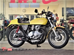 ホンダ/CB400F(408cc)国内未登録 シングルシート ショート管 CRキャブ他