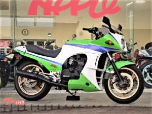 カワサキ/GPZ900R A9国内物 ノーマルルック バーハン ホワイトパワーリアサス