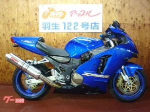 カワサキ/Ninja ZX-12R ブルーカラー ヤマモトサイレンサー
