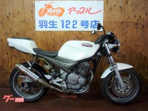 スズキ/Goose250 ホワイトカラー FCRキャブ 社外マフラー